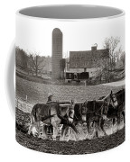 Amish Agriculture  Coffee Mug