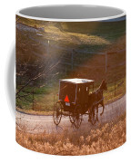 Amish Buggy Afternoon Sun Coffee Mug