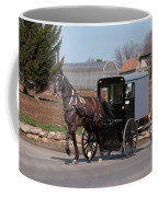 Amish Buggy And High Stepper Coffee Mug