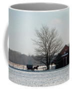 Amish Buggy And Old School Coffee Mug