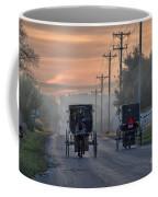 Amish Buggy Sunday Morning Coffee Mug