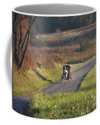 Amish Country Horse And Buggy In Autumn Coffee Mug