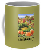 Amish Country - Pumpkin Patch Country Farm Landscape Coffee Mug