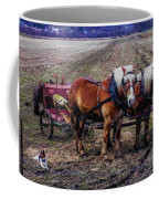 Amish Farming Team Coffee Mug