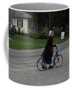 Amish Girl Going To Work Coffee Mug