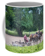 Amish Lady Disking Coffee Mug