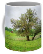 Amish Man And Tree Coffee Mug