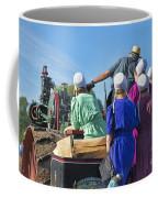 Amish On Steam Engine Coffee Mug
