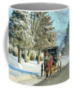 Amish Winter Coffee Mug by David Arment