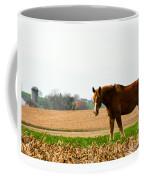Amish Work Horse Coffee Mug