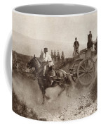 Ammunition Wagons Of An Italian Field Coffee Mug