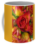 Among The Rose Leaves Coffee Mug