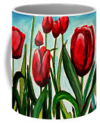 Among The Tulips Coffee Mug