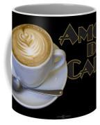 Amore Del Caffe Poster Coffee Mug