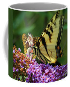 Amorous Butterfly And Faerie Coffee Mug
