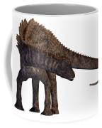 Ampelosaurus Armored Dinosaur Coffee Mug