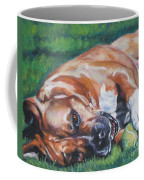 Amstaff With Ball Coffee Mug