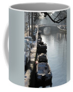 Amsterdam Canal In Winter Coffee Mug