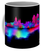 Amsterdam Skyline - Pink Blue Coffee Mug