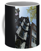 Amsterdam Spring - Arched Windows And Shutters - Right Coffee Mug