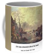 Amusement On The Ice 1645  Coffee Mug