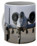 An A-10 Thunderbolt II Coffee Mug