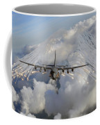 An Ac-130u Gunship Jettisons Flares Coffee Mug