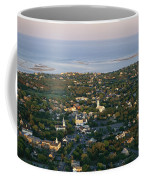 An Aerial View Of Chatham Coffee Mug by Michael Melford