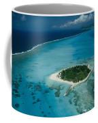 An Aerial View Of Saipan Island Coffee Mug