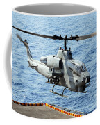 An Ah-1w Super Cobra Helicopter Coffee Mug