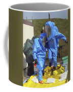 An Airman And A Soldier Jump Into A Tub Coffee Mug by Stocktrek Images