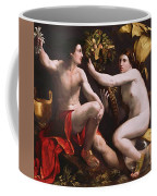 An Allegory Of Fortune 1538 Coffee Mug