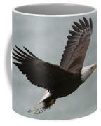 An American Bald Eagle Soaring Coffee Mug by Roy Toft