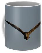 An American Bittern Comes Flying In. Coffee Mug
