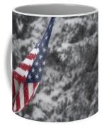 An American Winter Coffee Mug