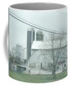 An Amish Barn In April Coffee Mug