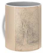 An Ancient Tree With Figures In A Landscape Coffee Mug