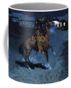 An Arguement With The Town Marshall 1907 Coffee Mug