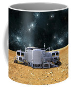 An Artists Depiction Of A Planetary Coffee Mug