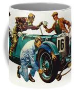 An Aston Martin Racing Car, Vintage 1932 Coffee Mug