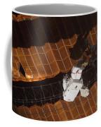 An Astronaut Anchored To A Foot Coffee Mug