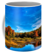 An Autumn Day At The Green Bridge Coffee Mug