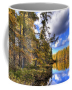 An Autumn Day At Woodcraft Camp Coffee Mug