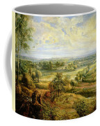 An Autumn Landscape With A View Of Het Steen In The Early Morning Coffee Mug