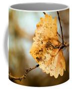 An Autumn Leaf Suspended Coffee Mug