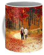 An Autumn Walk Coffee Mug
