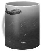 An Avenger Aircraft On Patrol  Coffee Mug