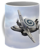 An E-2c Hawkeye Performs A Fly-by Coffee Mug