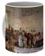 An Egyptian Feast Coffee Mug by Edwin Longsden Long