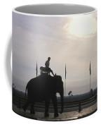 An Elephant At The Royal Palace Coffee Mug